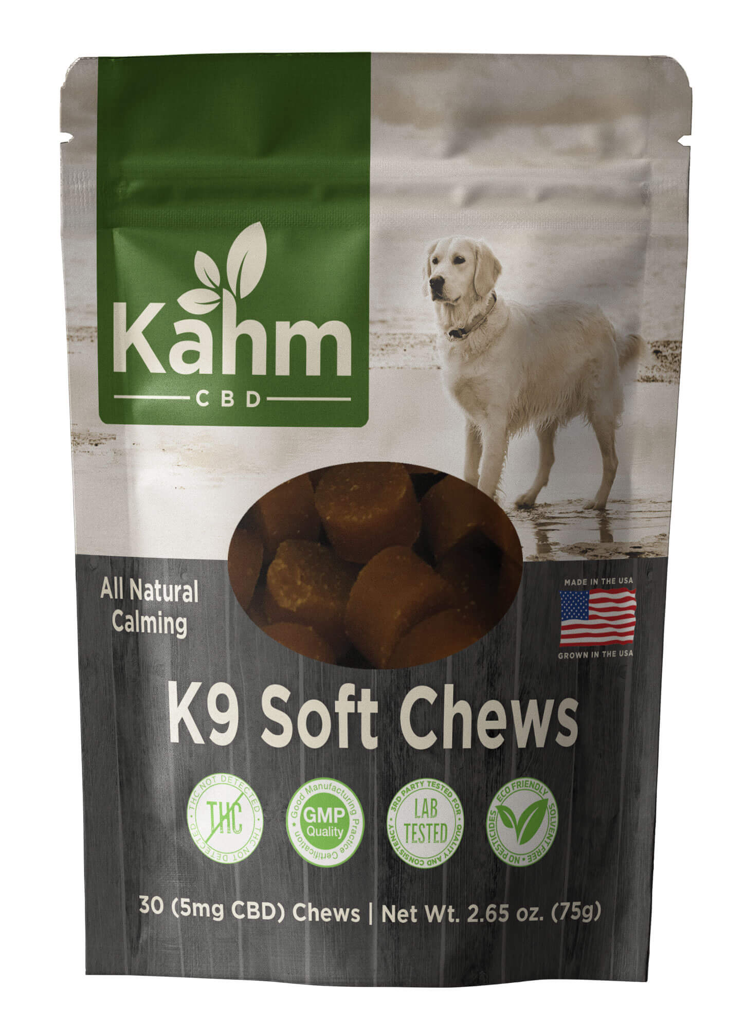 Large Dog K9 CBD Soft Chews 5mg
