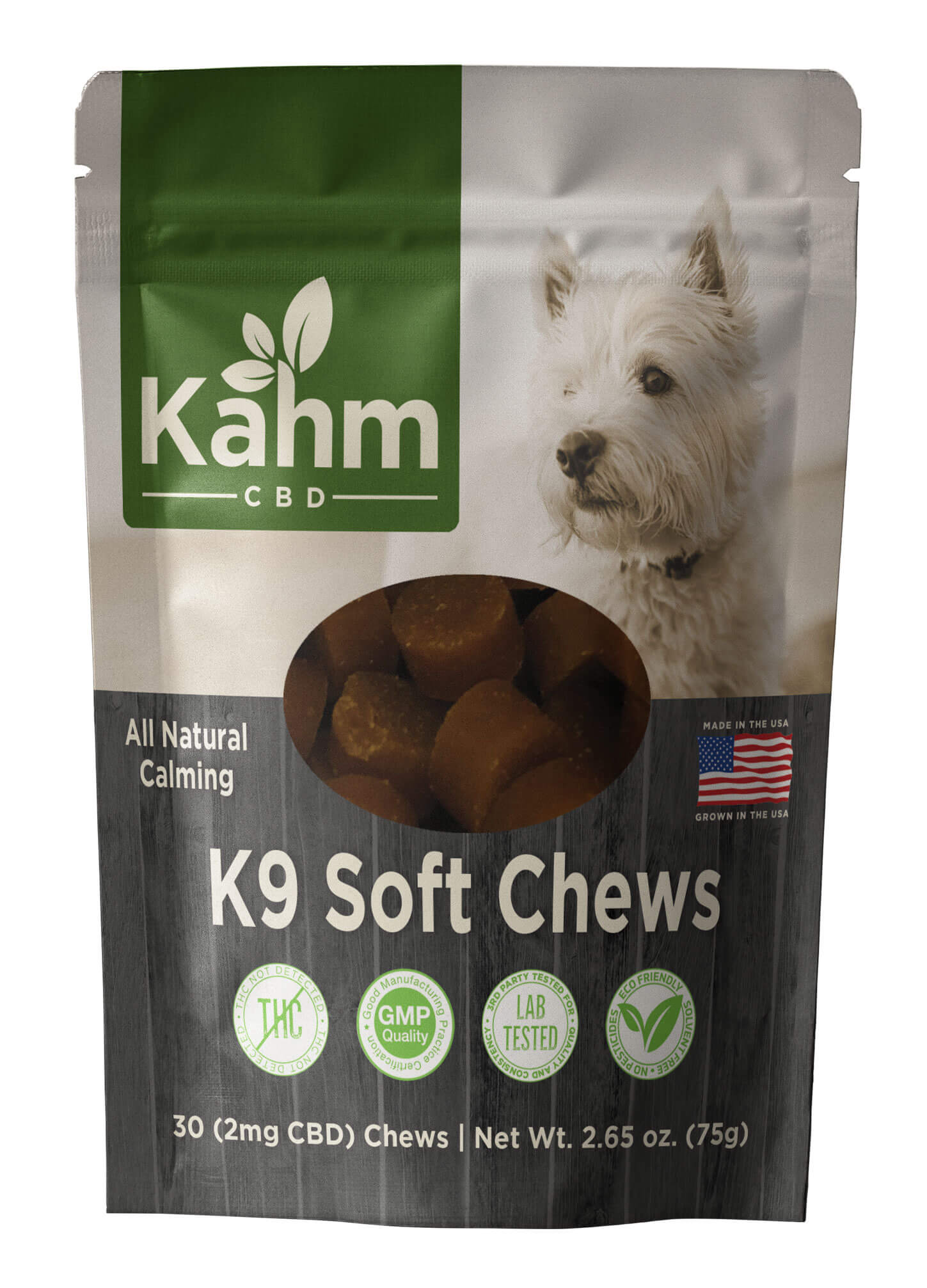 Small Dog K9 CBD Soft Chews 2mg