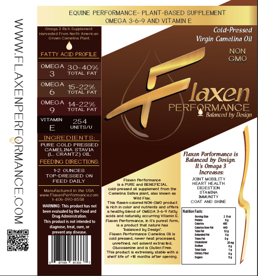 Flaxen Performance Camelina Oil