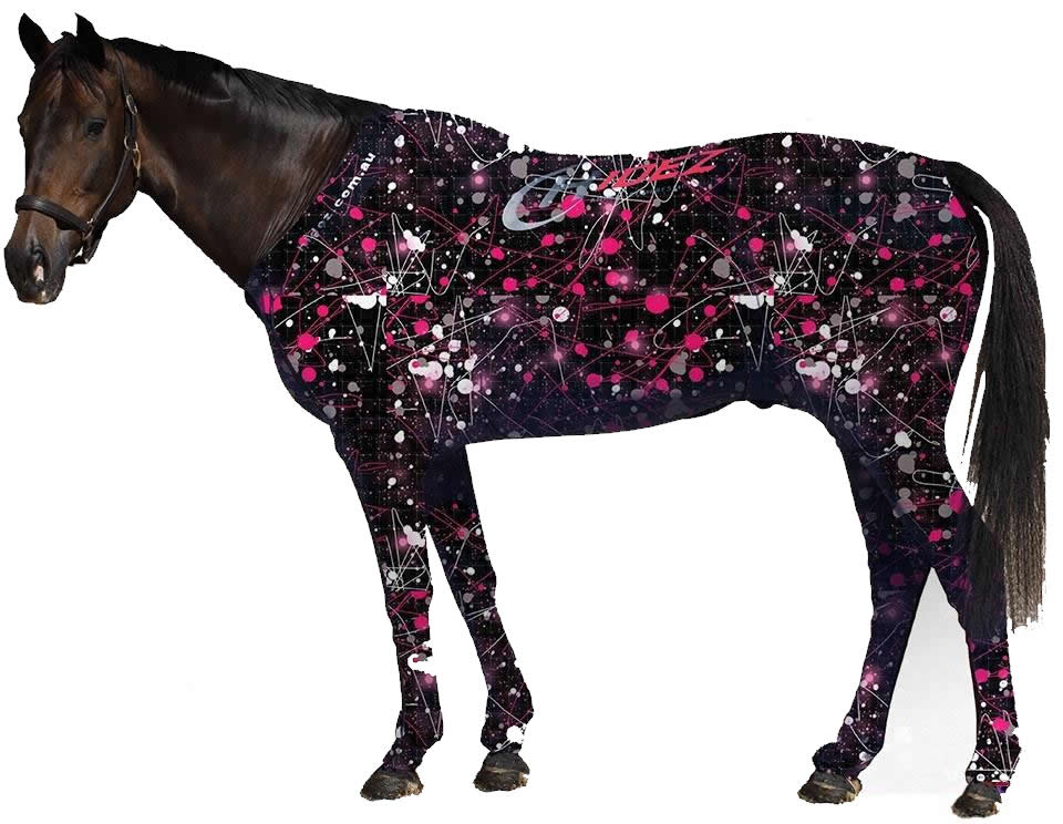 Equine Suit- Printed Colors- Shetland Pony Sizes