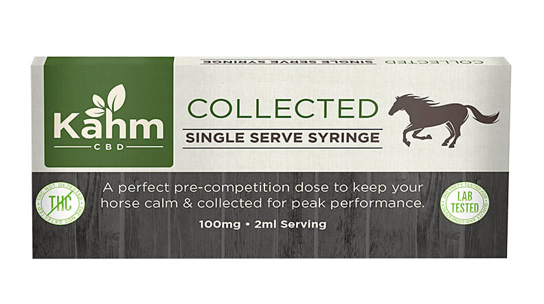 Kahm Collected Single Serve Syringe CBD
