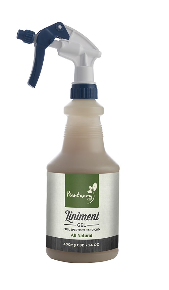 Equine Liniment Liniment Gel Spray 400mg Nano CBD