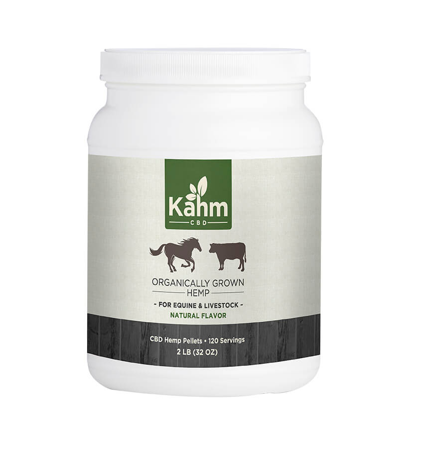 CBD Hemp Pellets- Horse and Livestock