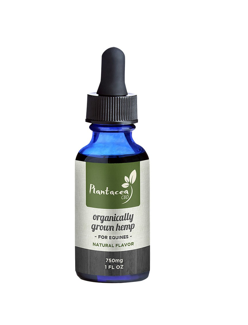 750mg Tincture Drops Horse & Livestock 1 oz