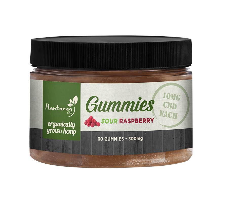 CBD Gummies - For People - Sour Raspberry 30 Ct